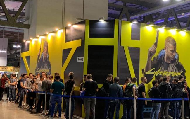Cyberpunk MGW 2019, Bandai Namco, Milano