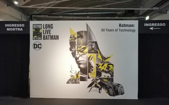 Batman 80, Warner Bros, Museo della Scienza e della Tecnologia Leonardo da Vinci, Milano