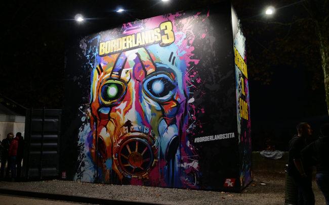 Borderlands 3, CiDiverte, Lucca Comics & Games 2019