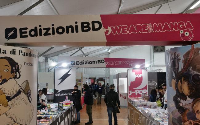 BD Edizioni, Lucca Comics & Games 2019